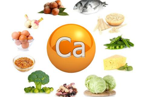 Продукты, обогащённые кальцием, которые необходимо употреблять в большом количестве для укрепления костной ткани.