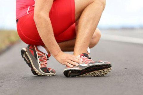 Растяжение мышц при беге и его лечение