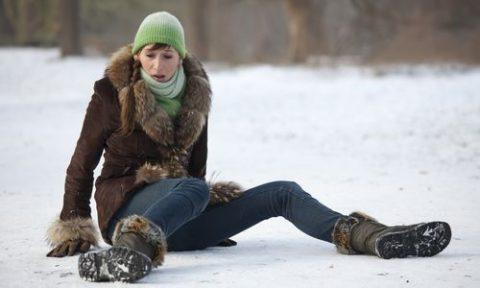 Сезонный характер нарушенной целостности берцовой кости на ноге