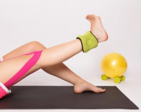 Сгибательно-разгибательные движения во время реабилитации лодыжки ноги