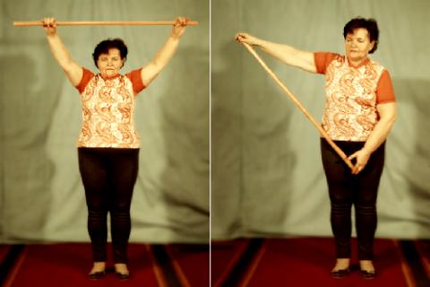 Со-дружественные движения руками во II периоде ЛФК при переломах плеча