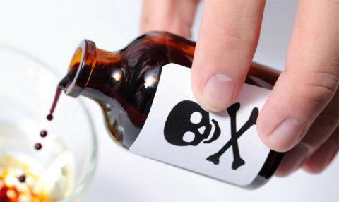 Токсическое действие кислоты на организм