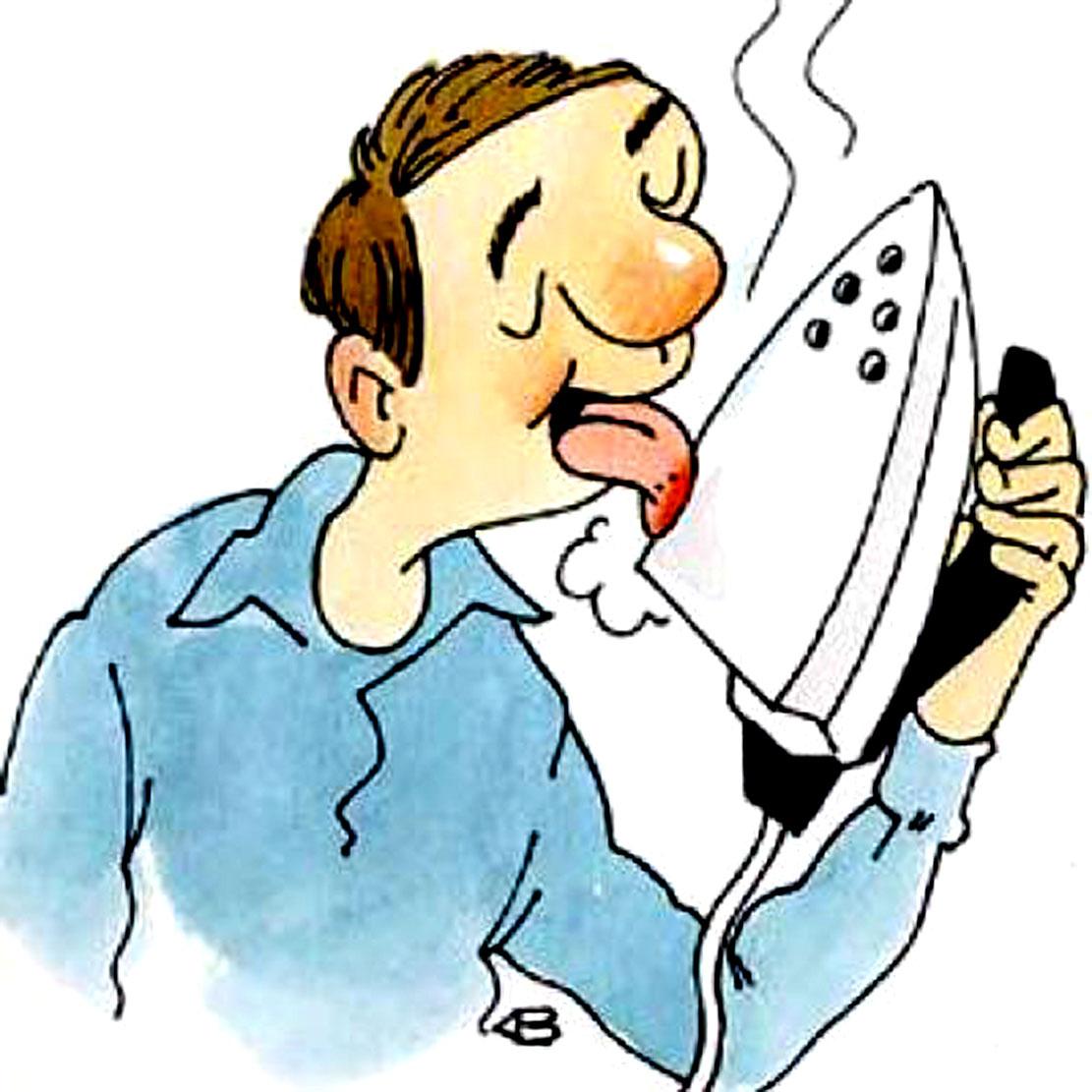 Ожоговые травмы языка чаще всего получают в быту
