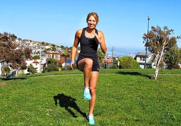 Лучшим упражнением 3 этапа является бег на месте