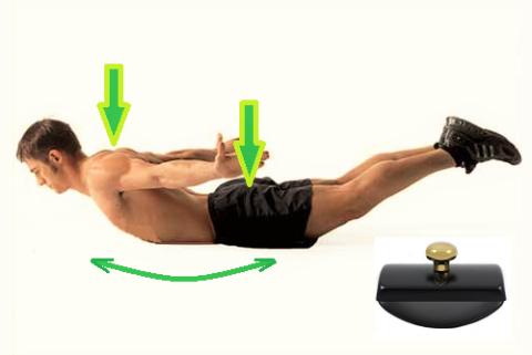 Ласточка или асана йоги Шалабхасана (поза Кузнечика, Саранчи)