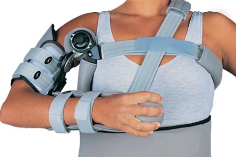 Ортез для фиксации плечевого сустава после операций и эндопротезирования