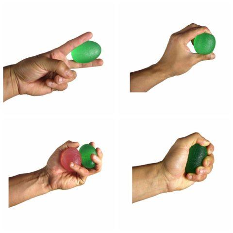 Упражнения с мячиком для кисти