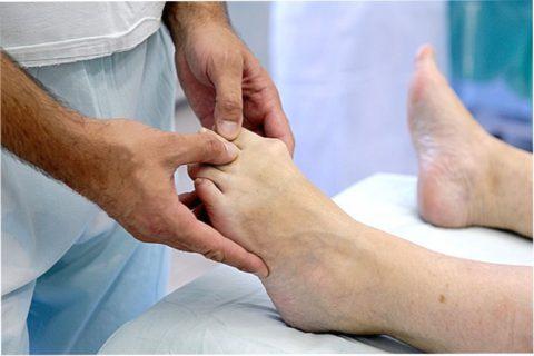Эффективность закрытой репозиции костных отломков и операции на ноге