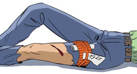 Возможные способы остановки кровотечения при нарушении целостности кости ноги
