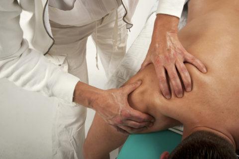 Классический массаж при закрытом переломе плеча после снятия гипса