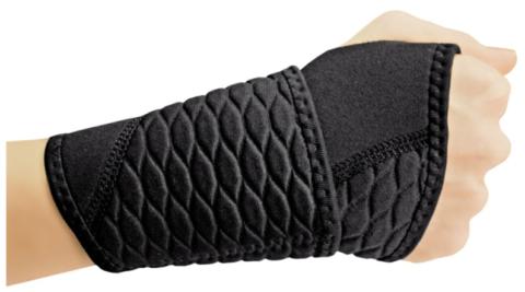 Некоторые утягивающие повязки содержат шерсть или другой материал с согревающим эффектом