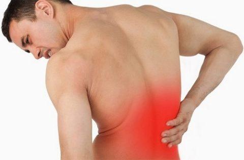 Особенности и характер болевых ощущений из-за полученной травмы спины
