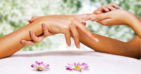 Потягивание здоровых пальцев
