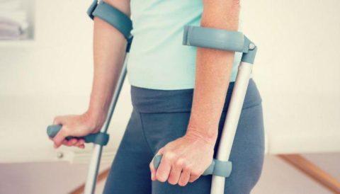 Появление последствий нарушенной целостности костной структуры таза у человека
