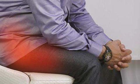 Симптоматические проявления сломанных костных тканей в области таза человека