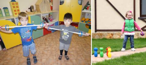 ЛФК с детьми проводиться в игровой форме