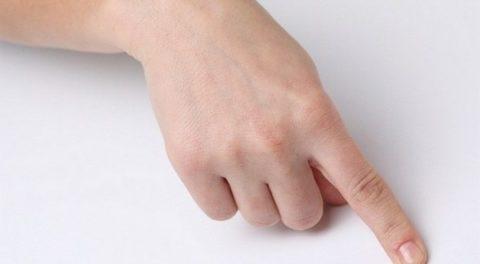 Основные последствия ушиба пальца верхней конечности