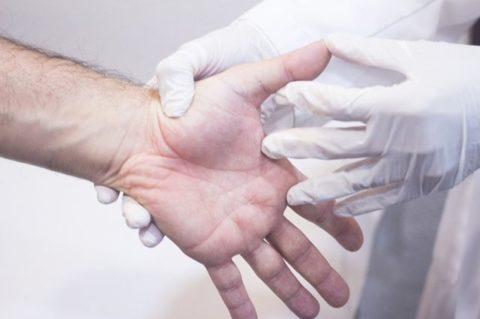 Проверка достоверных симптоматических признаков для определения диагноза перелома