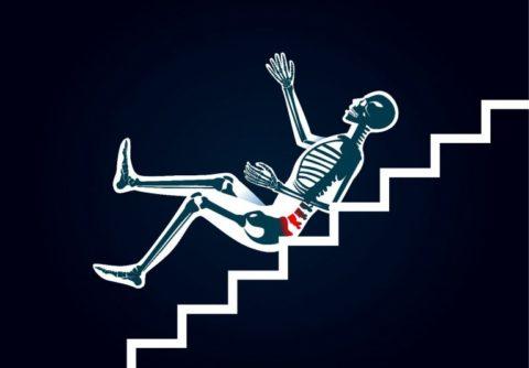 Распространенные причины повреждения целостности копчиковой кости в человеческом теле