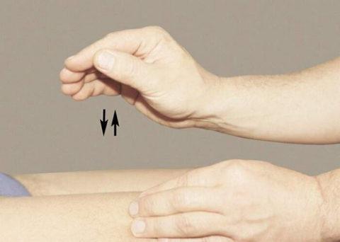 Вибрирующие движения пальцами
