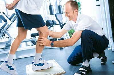 Гимнастика для колена – 2-3 р. в неделю