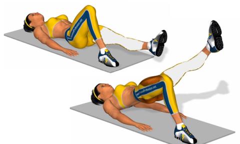 Лучшее упражнение для первого этапа реабилитации при переломах коленного суставов