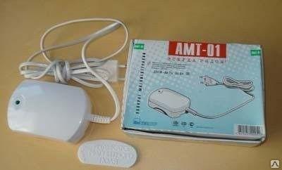 Магнитотерапию проводят с помощью аппарата АМТ 01