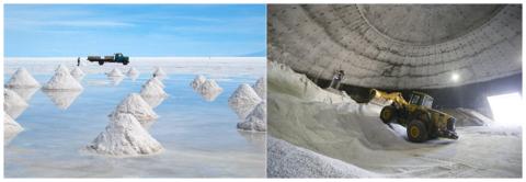 Кристаллы морской и столовой соли одинаково солёные