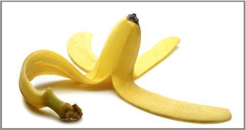 Банановая шкурка также поможет снять зуд, красноту и отечность после укусов насекомых