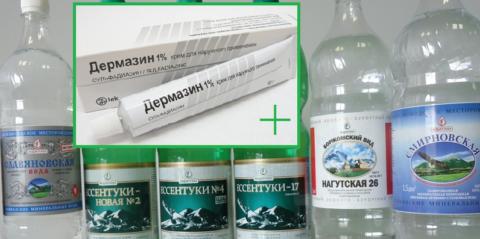 При лечении ожогов большой площади больному нужно пить много щелочной воды