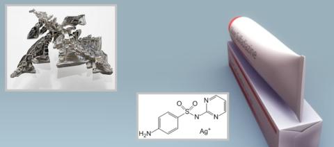 Противоожоговый крем – пропиленгликоль-глицериновая основа + сульфаниламид Ag