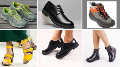 Летняя, деловая и зимняя альтернатива ортопедической обуви для взрослых