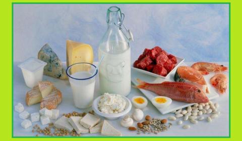 Продукты, рекомендуемые для составления еженедельного меню при костных переломах