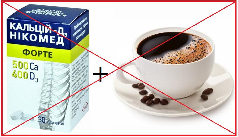 Важно: кофе полностью блокирует усвоение кальция