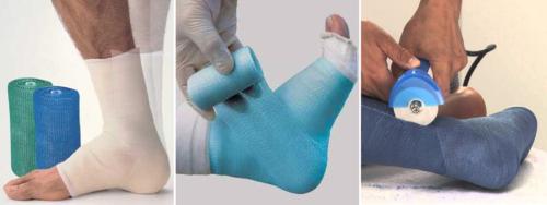 Трикотажная подкладка под полимер помогает коже легче перенести период иммобилизации