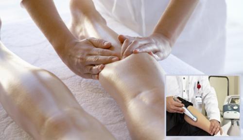 Лечебный массаж и физиотерапия — неотъемлемые части реабилитации сломанной голени
