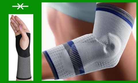 Компрессионная поддержка суставов луча во время их посттравматической реабилитации