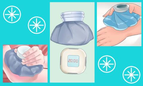 Не двигайте рукой, приложите холод на 20 минут, выпейте обезболивающую таблетку