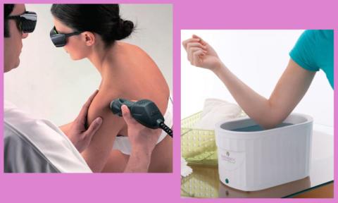 Снятие отека после перелома лучевой кости: лазерная MLS-терапия, солевые ванночки