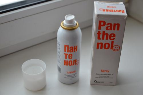 Польза от нанесения Пантенола (дексапантенола) на свежие ожоги равна 0